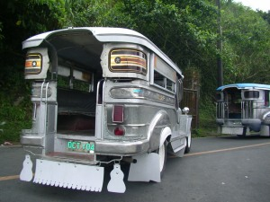 Jeepney, a popular mode of transport