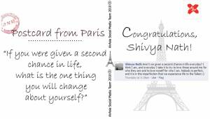airasia paris postcards love challenge