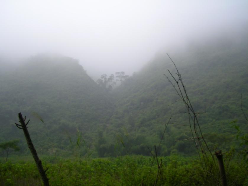 Ben Lac, Mai Chau, North West Vietnam, Vietnam, mountains, mist
