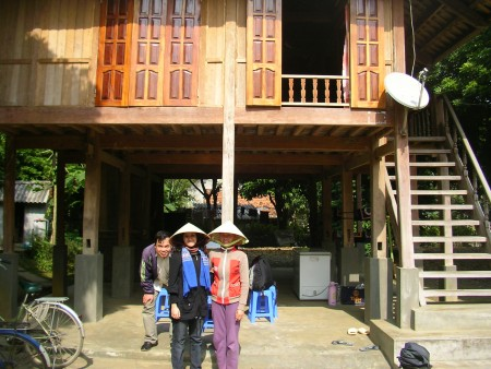 Ben Lac, Mai Chau, North Vietnam, Vietnam, stilt house, homestay