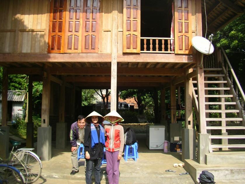 Ben Lac, Mai Chau, North Vietnam, Vietnam, stilt house, homestay