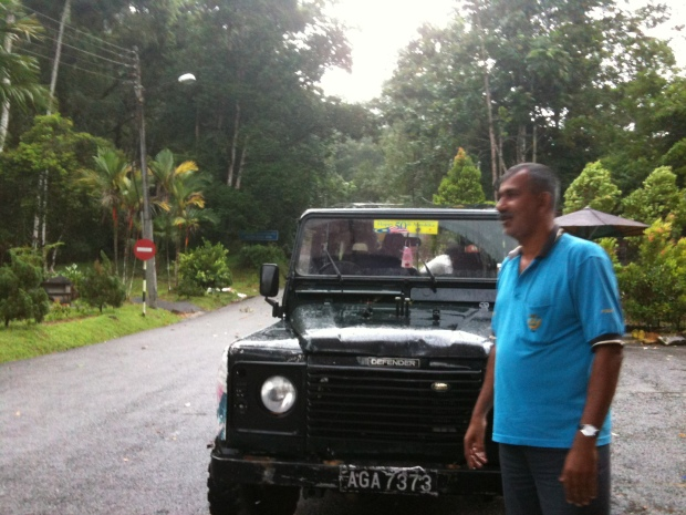 4-wheel drive up to Maxwell Hill