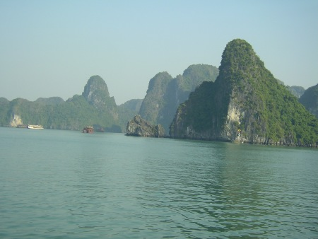 Halong bay, vietnam, north, southeast asia, natural wonder, gulf of tonkin