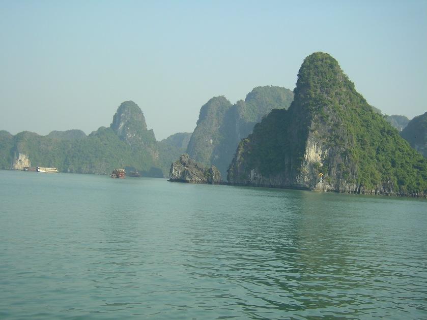Halong bay, vietnam, north, southeast asia, natural wonder, gulf of tonkin