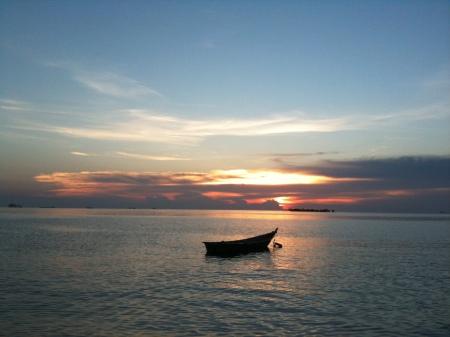 Sunset, Port Dickson, malaysia