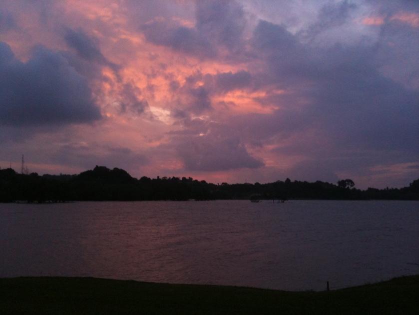 golf course, tempat senang, indonesia, weekend getaway, sunset