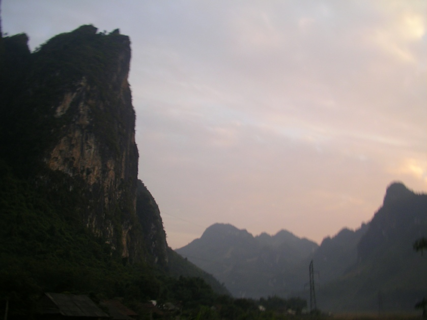 Halong on land, north west vietnam