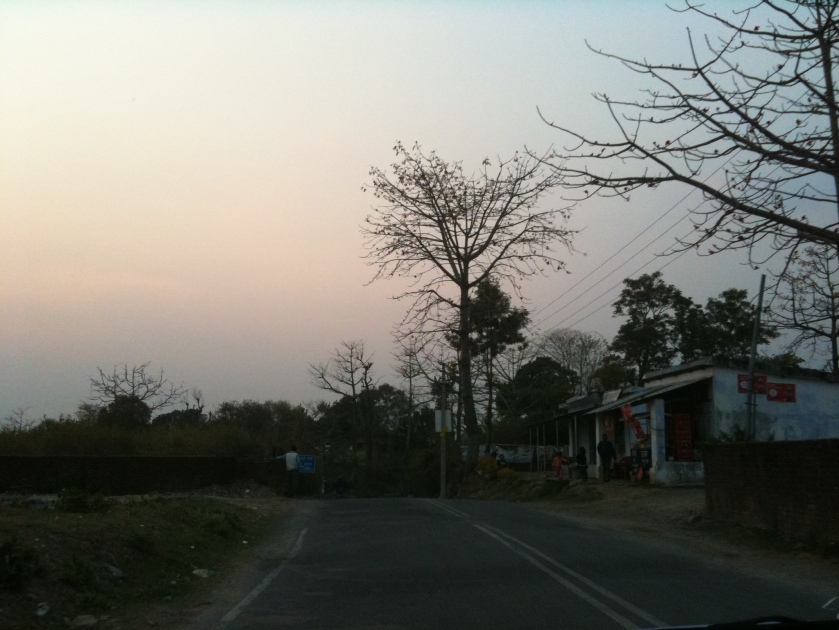 Dehradun, Doon valley, sunset