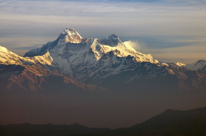 Himalayas in India.
