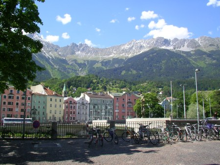 Innsbruck, Austria, Alps, Europe