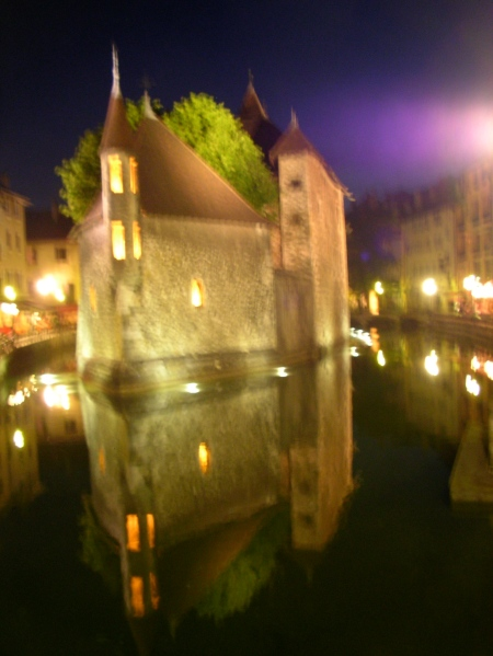 Annecy, prison, old town, france