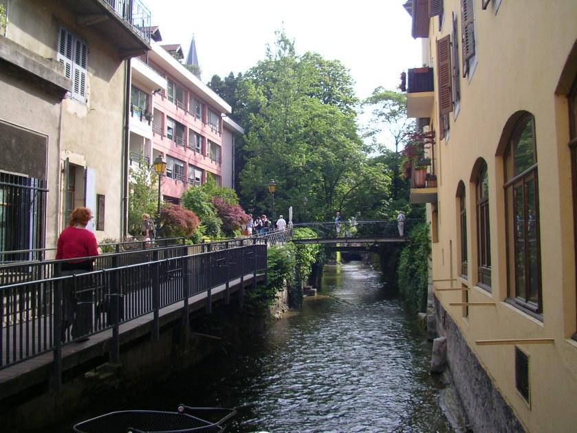 canal, Annacy, France