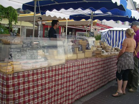 Annecy, market, France