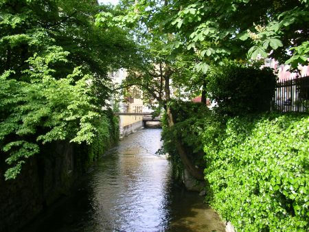 Annecy, canal, old town