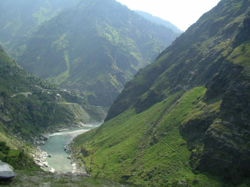 Himalayas, river Satluj, shimla to kalpa drive, drive to spiti