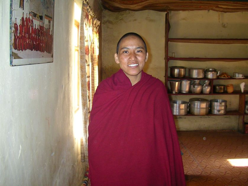 nunnery, nuns, morang village, spiti valley, offbeat travel, sherab choling gompa