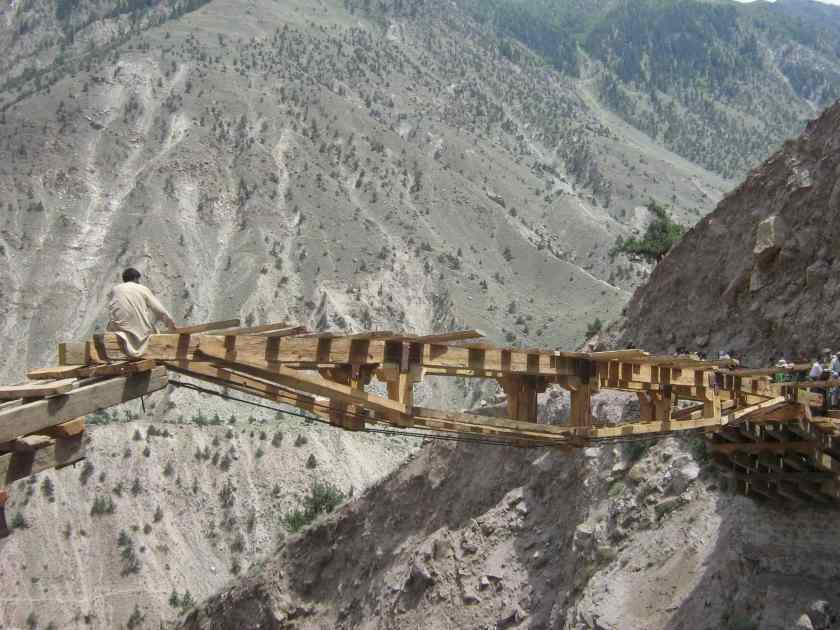 Nanga parbat, base camp, fairy meadows, broken bridge, himalayas, pakistan, offbeat travel