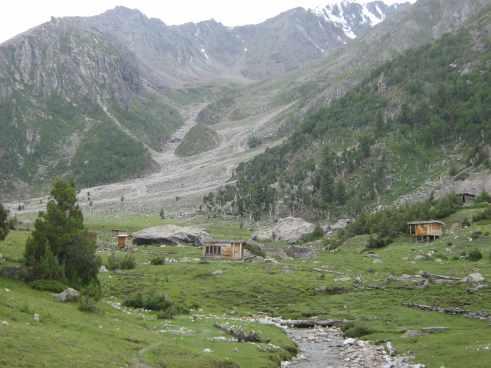 beyal camp, nanga parbat, base camp, fairy meadows, killer mountain, offbeat travel, pakistan, himalayas
