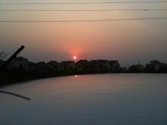 Dehradun, sunset, uttarakhand