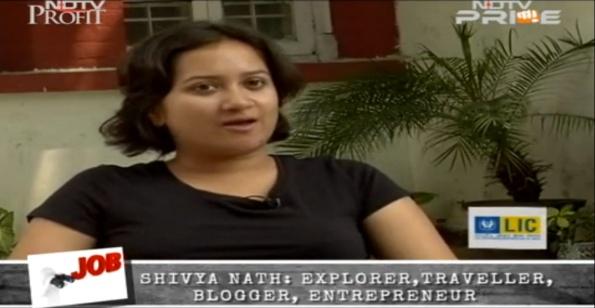 NDTV shivya nath