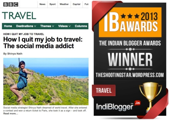 Indian travel bloggers, Indian travellers, Shivya Nath