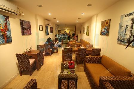 bagels cafe, defence colony, free wifi, best work from home cafe, south delhi