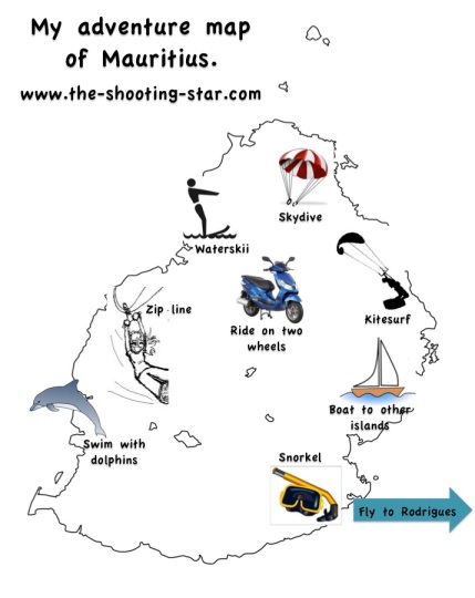 Stunning Adventurous Experiences In Mauritius You Must Do We - Detailed map of mauritius