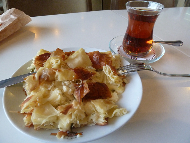 Borek Turkey, Turkish vegetarian food