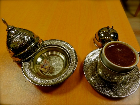 Turkish coffee, Turkish coffee cups