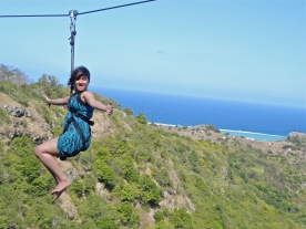 Rodrigues photos, Rodrigues zipline, Mauritius sports