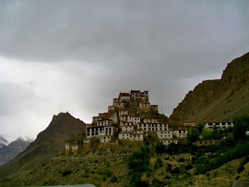Buddhist monastery in India, monk for a month, India monastery