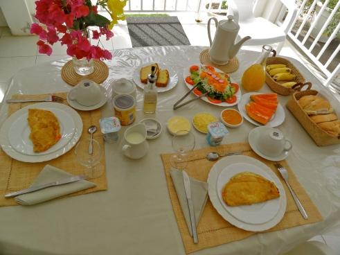Chez Pat, Mauritius vegetarian