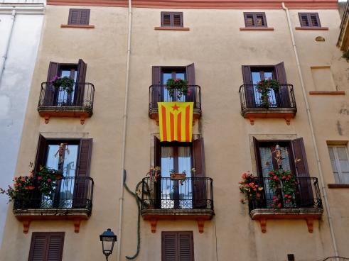 Catalonia Spain, Tarragona pictures, Catalonia flag