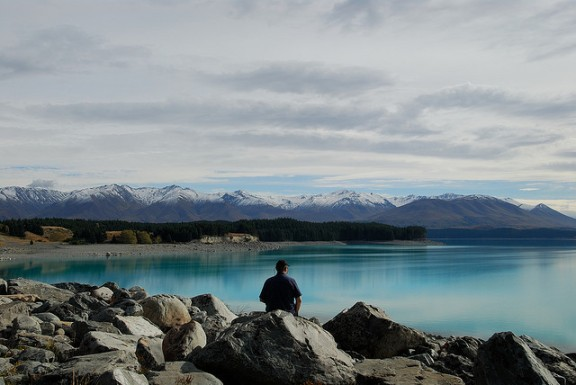 Lake Pukaki, New Zealand photo gallery