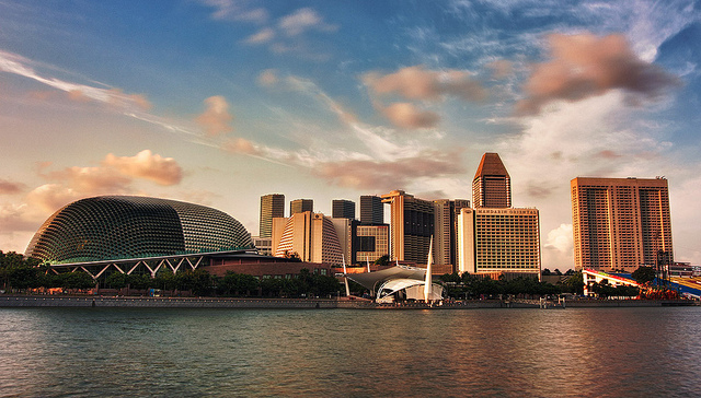 Esplanade photos, Esplanade pictures, what to do in singapore for free