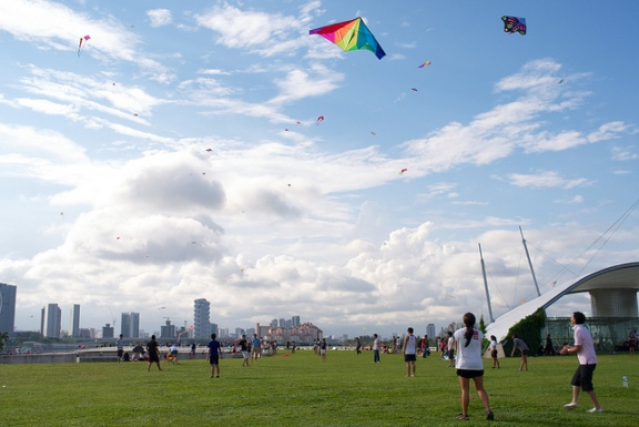 Marina Barrage Singapore, free activities with kids singapore