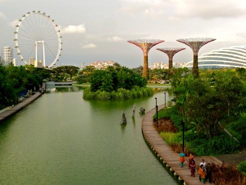 Singapore gardens by the bay, Singapore photos