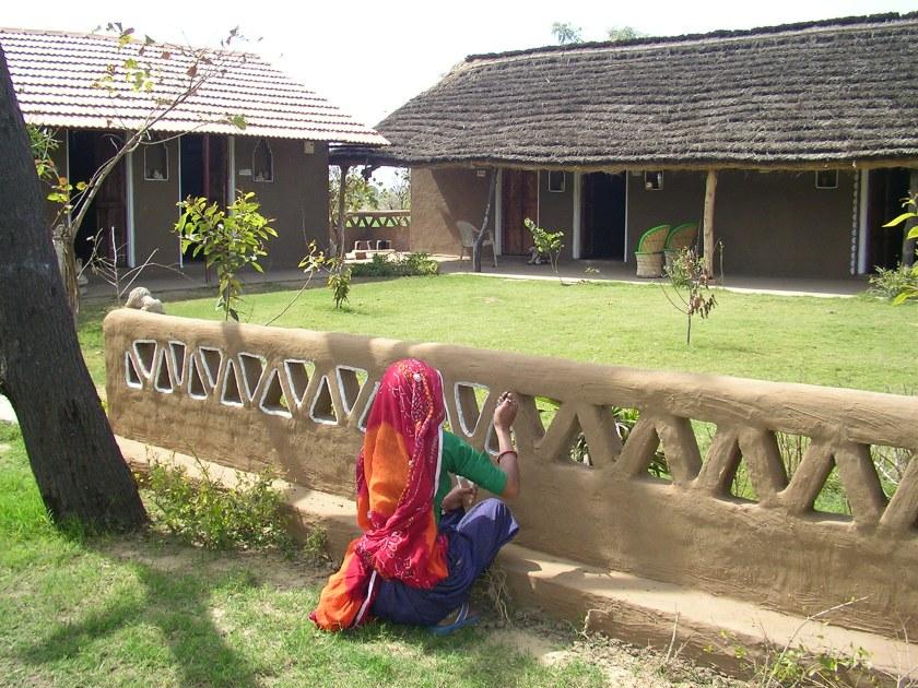 organic farmstay India, farmstay Jaipur, Nirvana Organic Farm