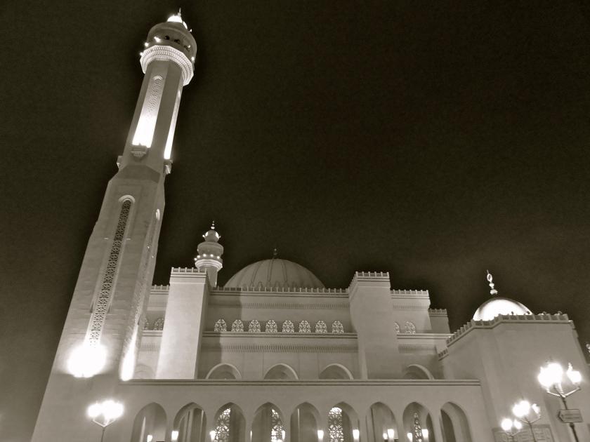 Grand mosque Bahrain, al fateh Bahrain, Bahrain attractions