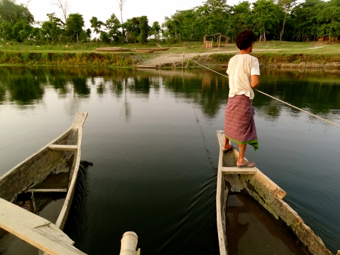 Assam villages, Brahmaputra River, Majuli island