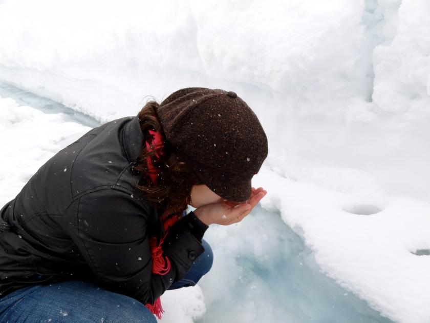 Athabasca glacier, Jasper glacier, Columbia icefields