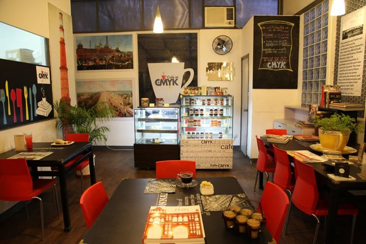 CMYK cafe delhi, cafes in delhi, delhi wifi