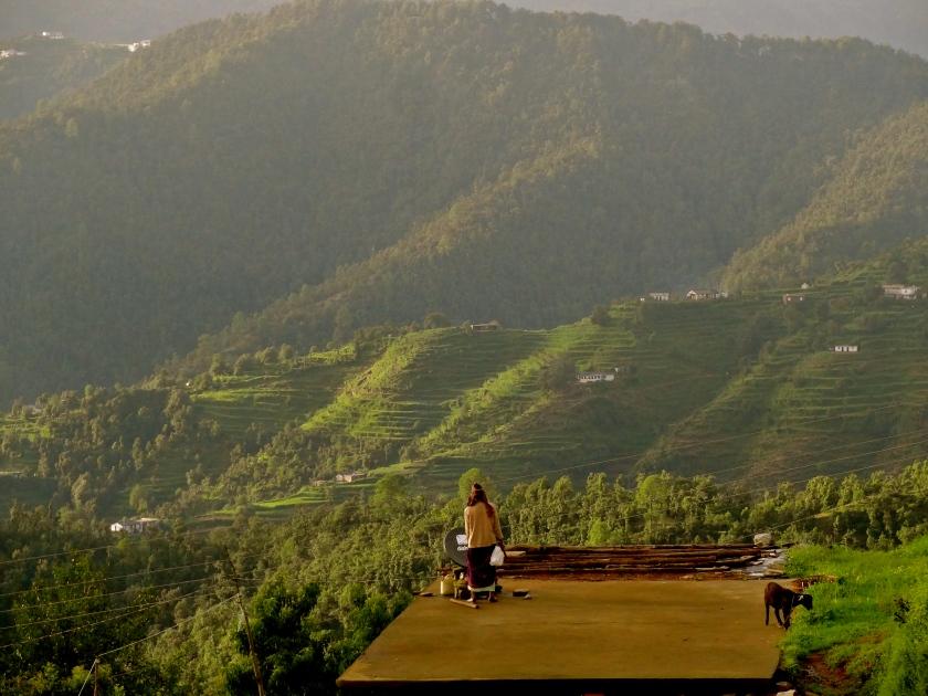 Kumaon village, Kumaon hills, Kumaon himalayas, Dhanachuli