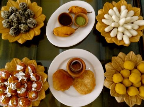 Rajasthani food, Jaisalmer food, Rajasthan food, mirchi vada, Rajasthan sweets