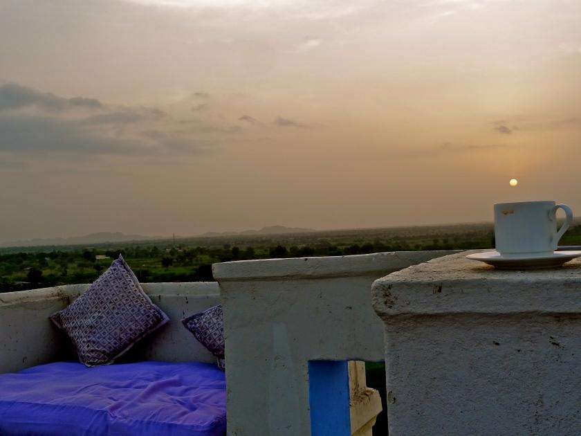 Rajasthan sunset, Lakshman Sagar, Pali Rajasthan, Lakshman Sagar Pali