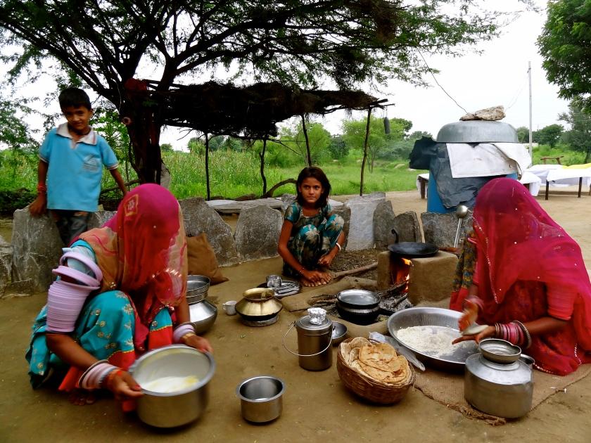Raika Rajasthan, Raika women Rajasthan, Rajasthan village, Rajasthani food