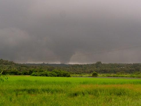 Goa monsoon, North Goa