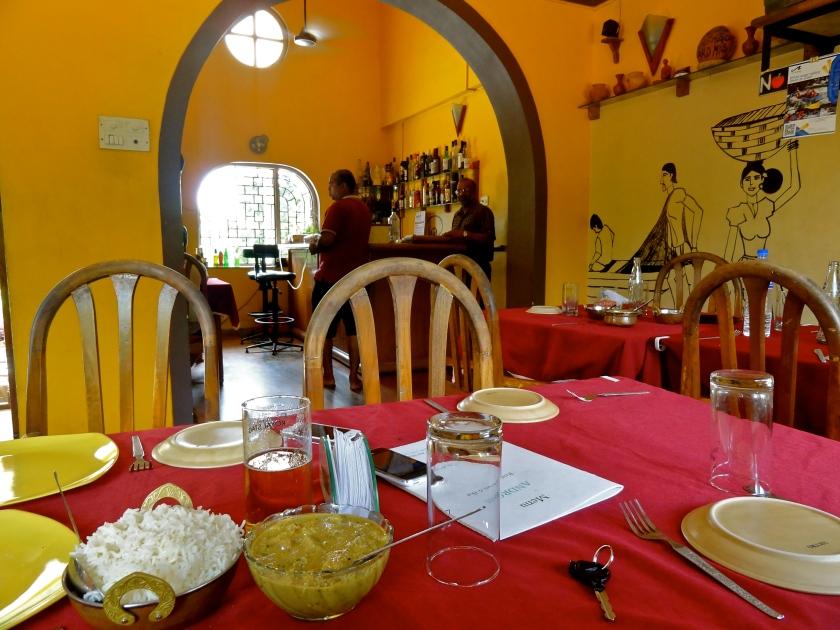 Androns Goa, Androns Nachinola, Goan restaurants Goa, Goa best restaurants