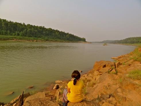 Ken river, panna madhya pradesh, panna national park