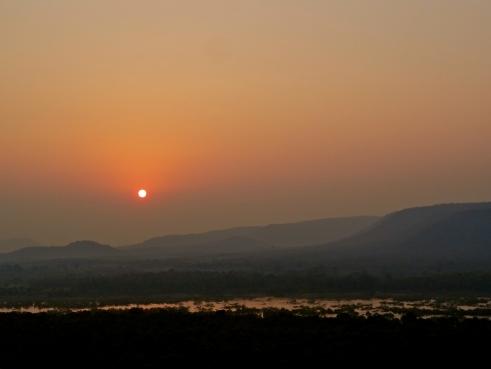 Madhya pradesh sunset, panna sunset, panna national park